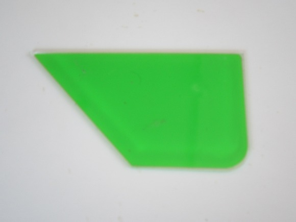窓ガラス用 施工道具 プラスチック定規